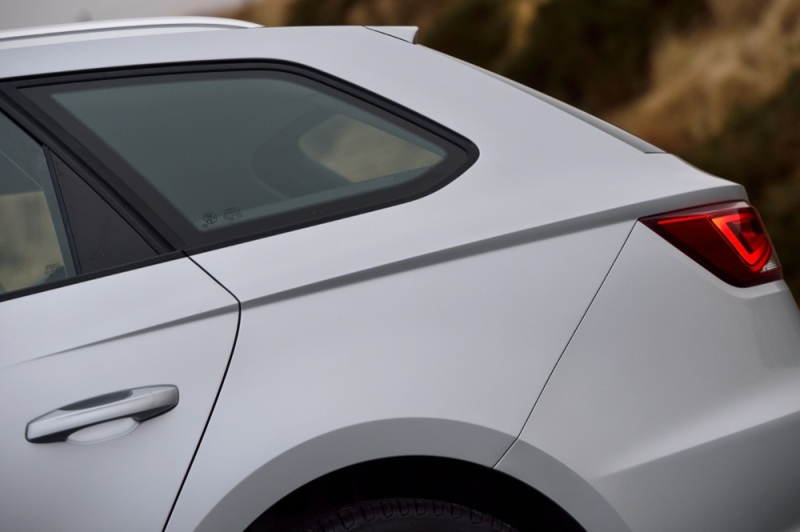 SEAT Leon ST rear detail