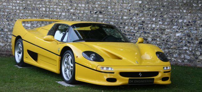 ferrari-f50-gialla